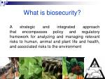 what is biosecurity