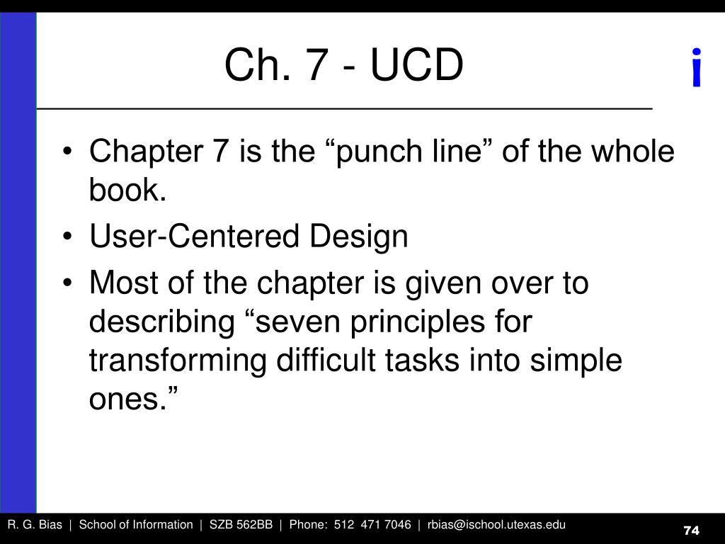 Ch. 7 - UCD