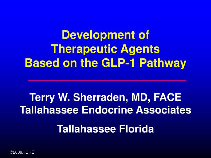 development of therapeutic agents based on the glp 1 pathway n.