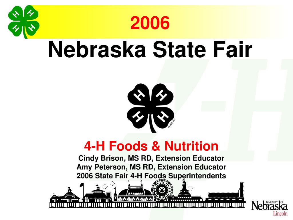 4-H Foods & Nutrition
