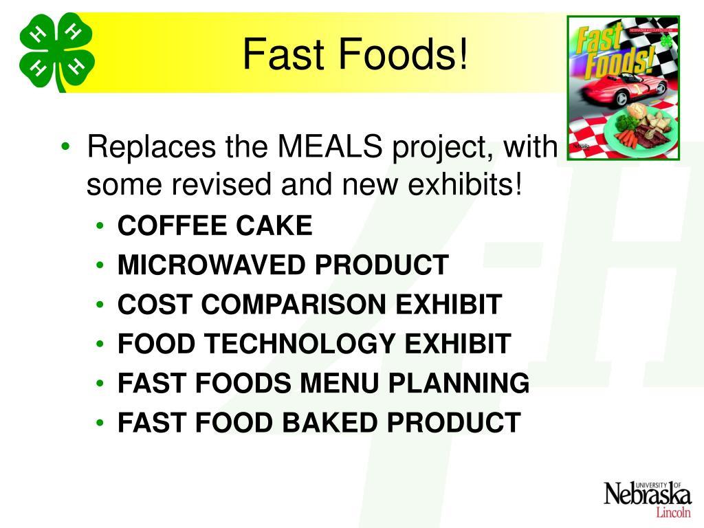 Fast Foods!