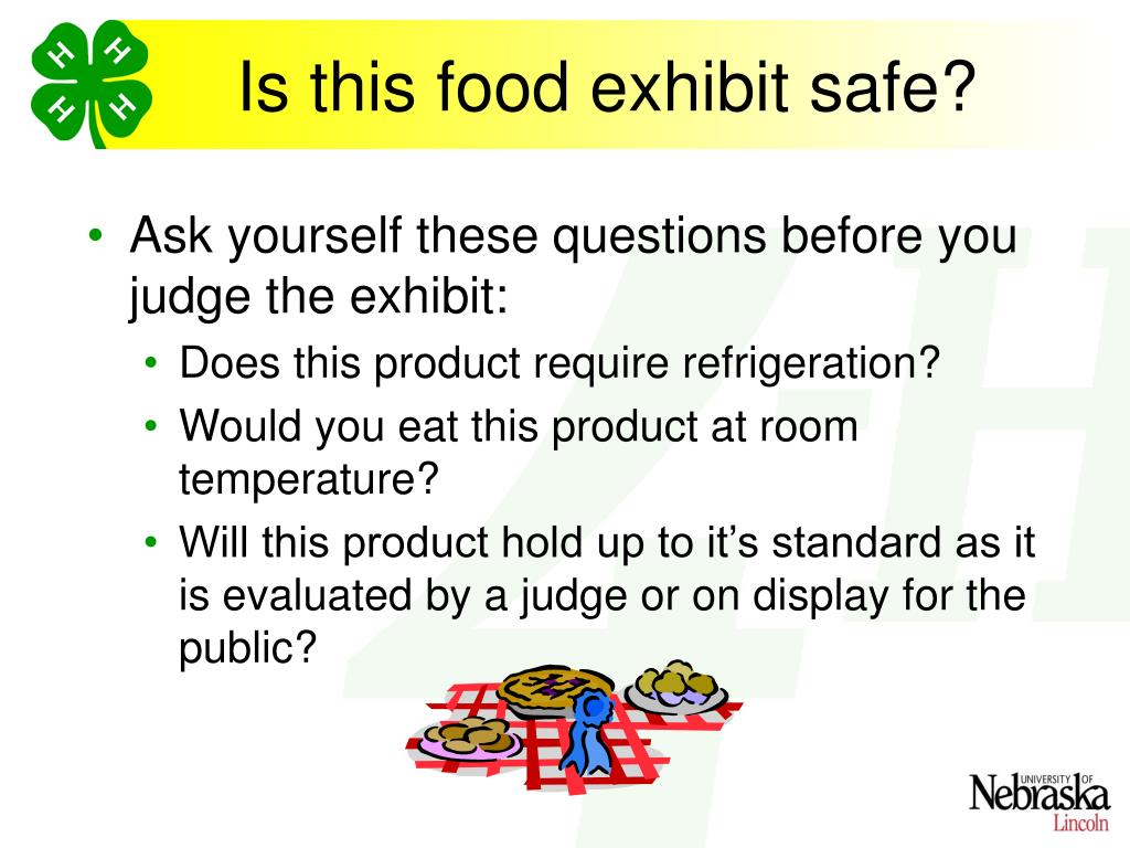 Is this food exhibit safe?