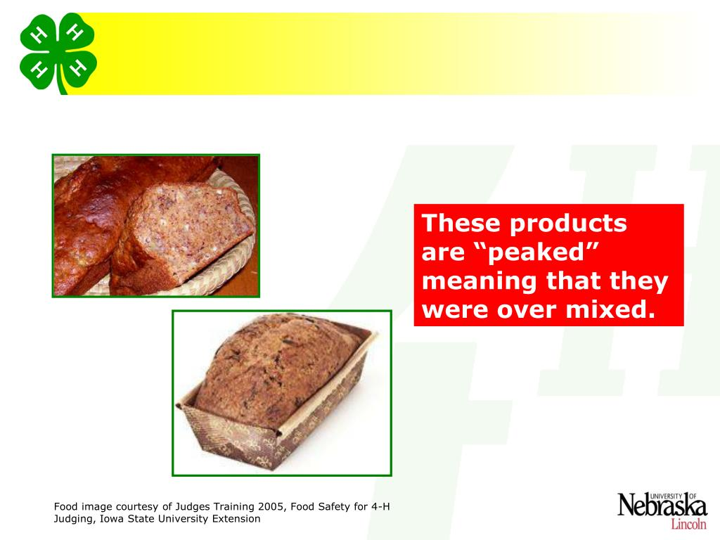 """These products are """"peaked"""" meaning that they were over mixed."""