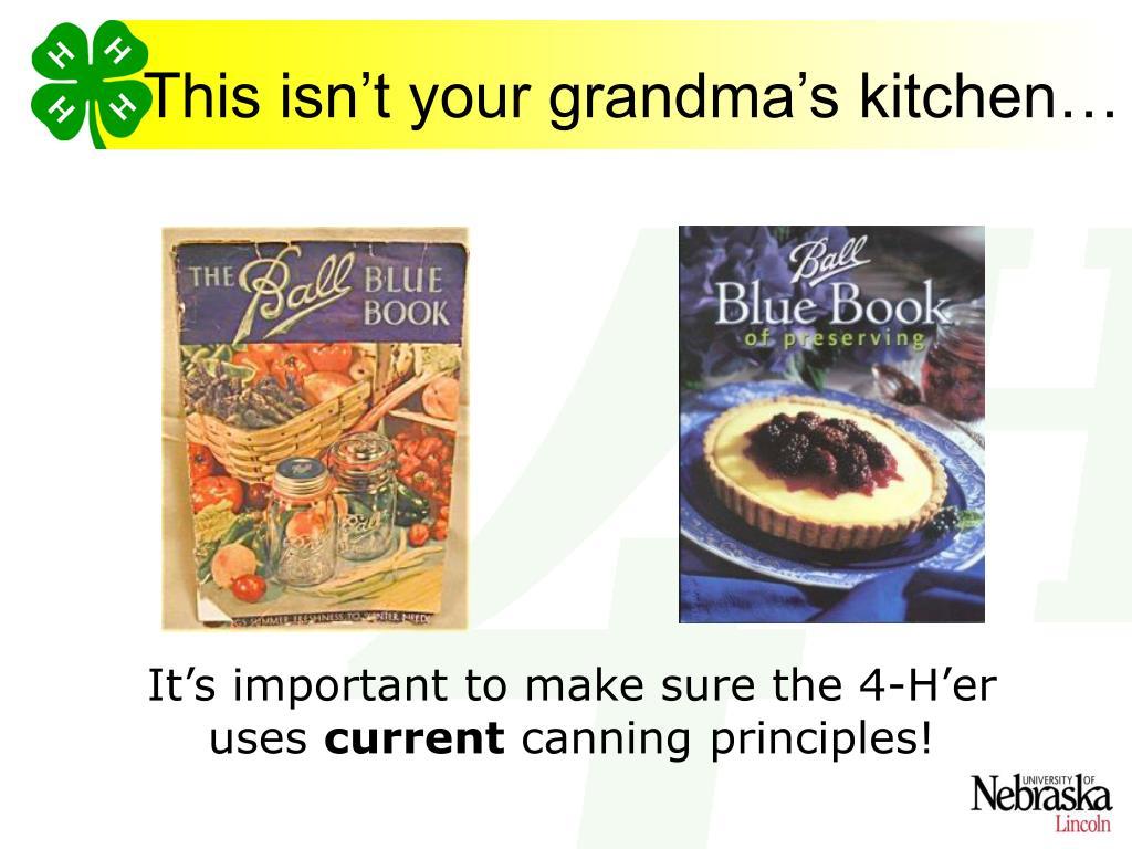 This isn't your grandma's kitchen…