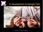 in development at georgia tech