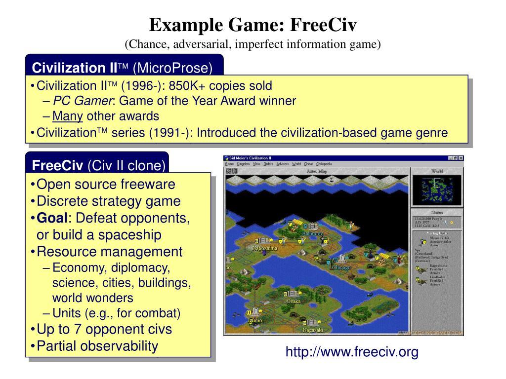 Example Game: FreeCiv