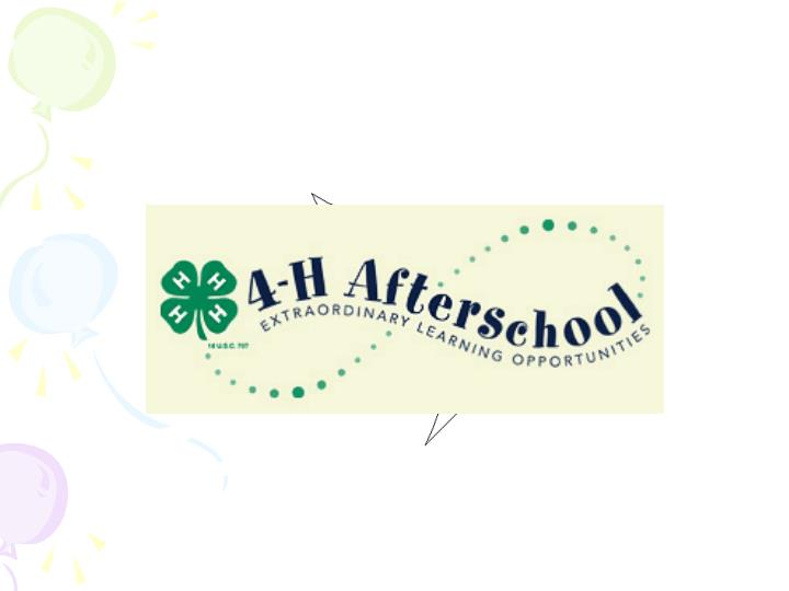 A history of extension after schoolschool aged care programming i ppt