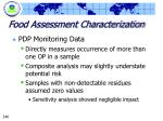 food assessment characterization246