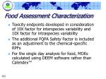 food assessment characterization252