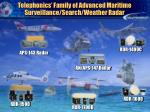 telephonics family of advanced maritime surveillance search weather radar