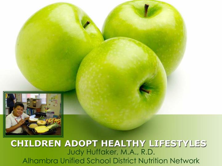 children adopt healthy lifestyles n.