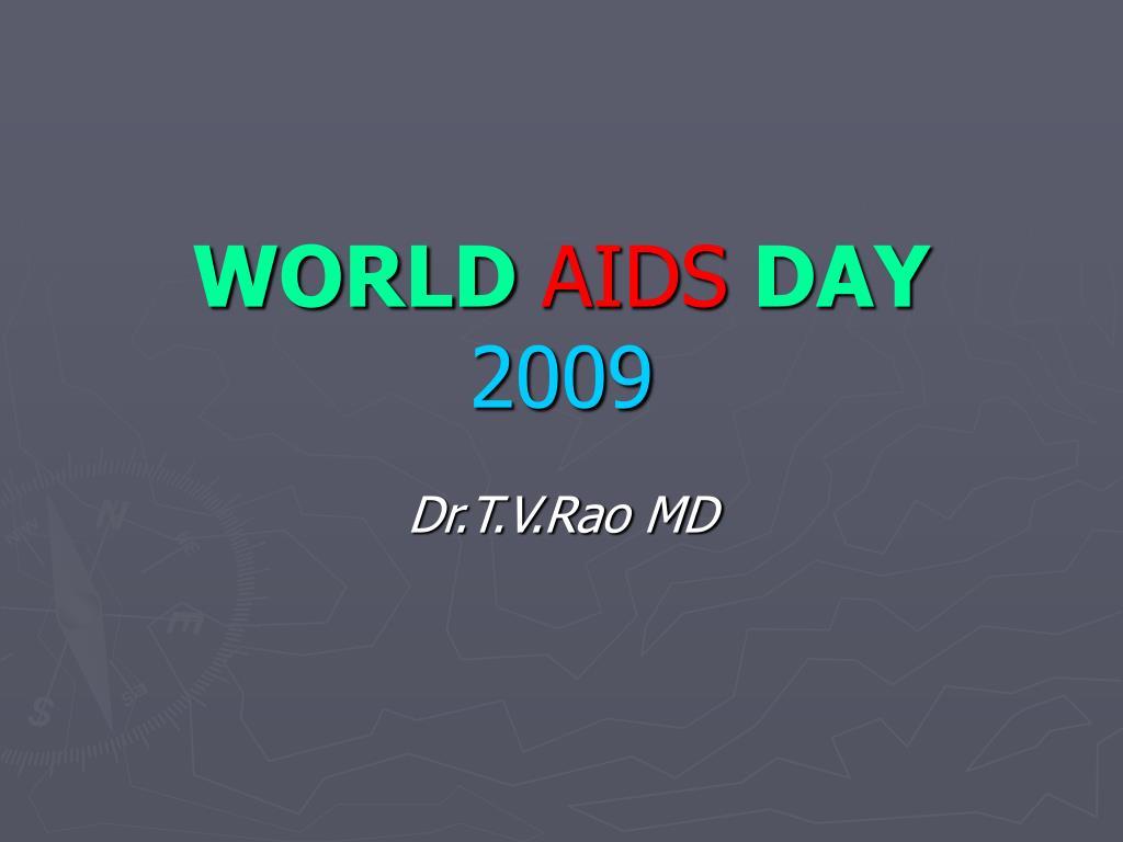 world aids day 2009 l.