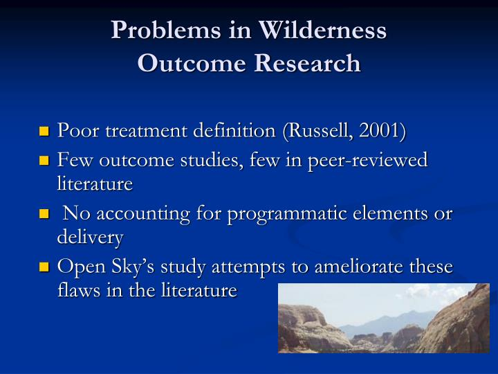 Poor treatment definition (Russell, 2001)