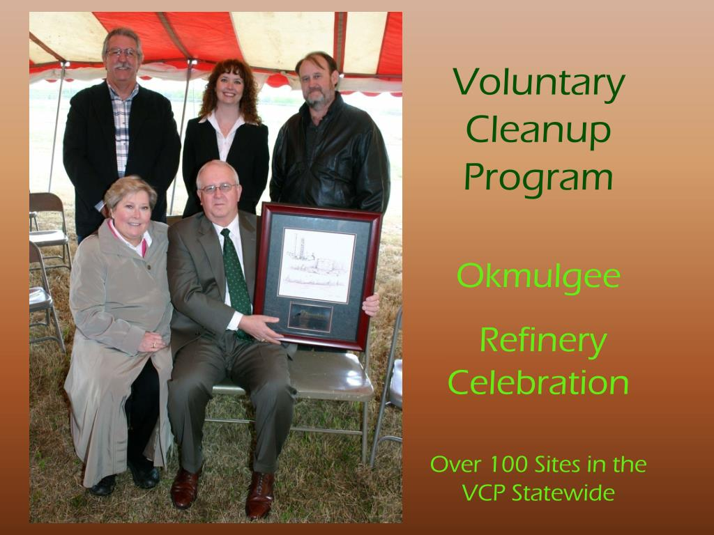 Voluntary Cleanup Program