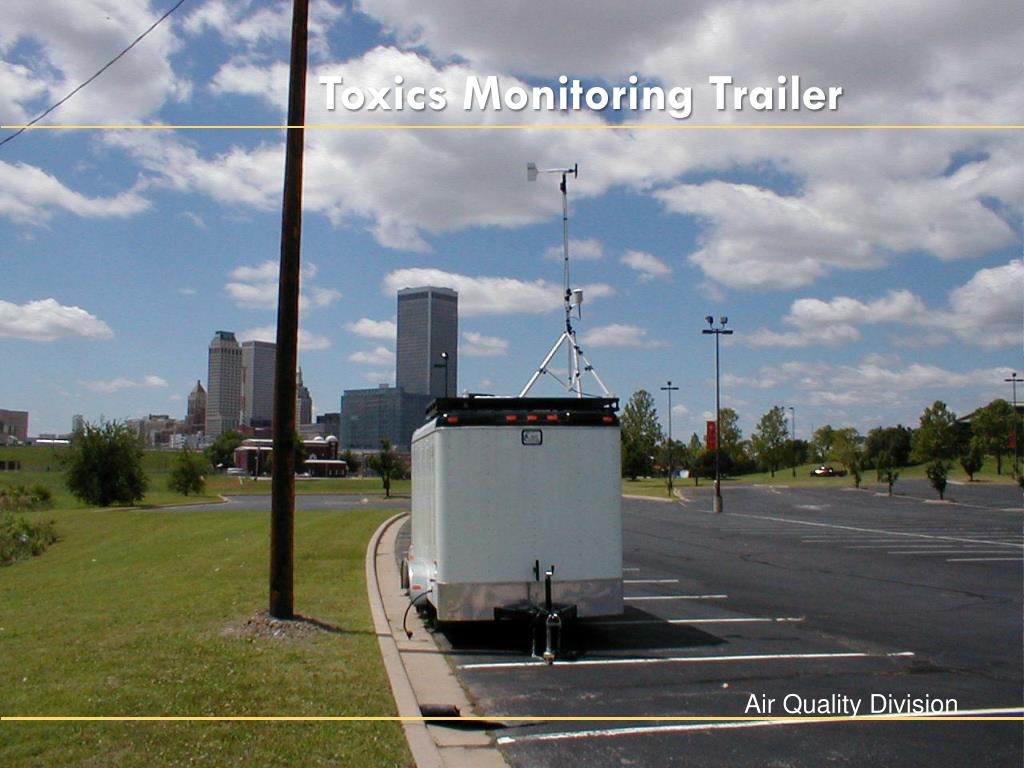 Toxics Monitoring Trailer