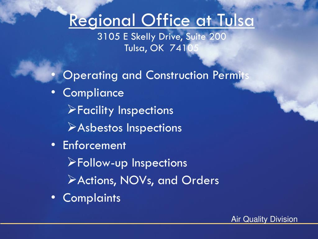 Regional Office at Tulsa