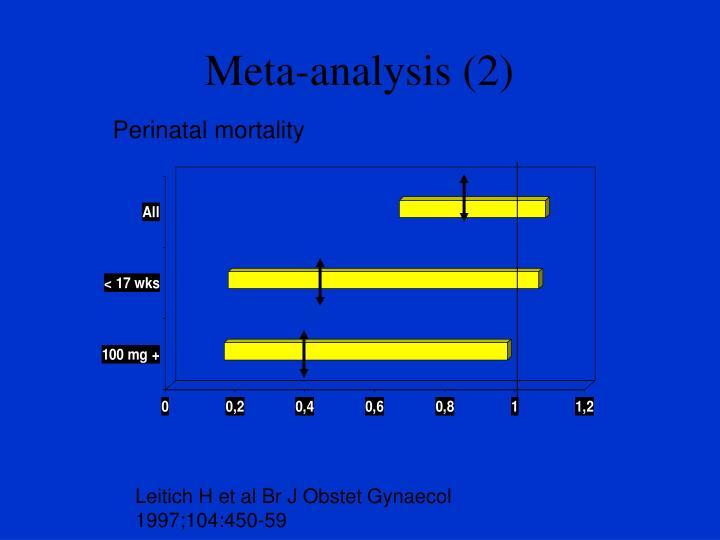Meta-analysis (2)