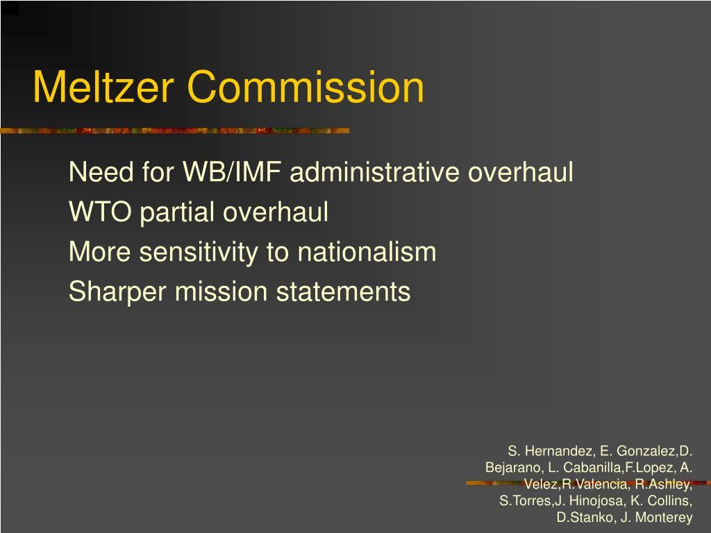 Meltzer Commission