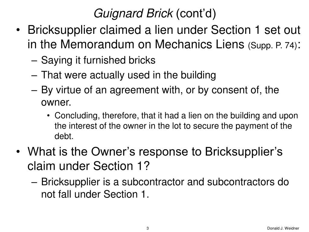 Guignard Brick