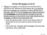 kislak mortgage cont d26
