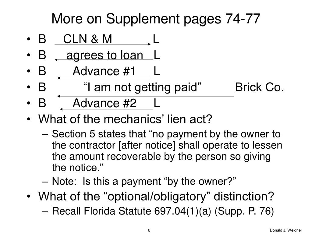 More on Supplement pages 74-77