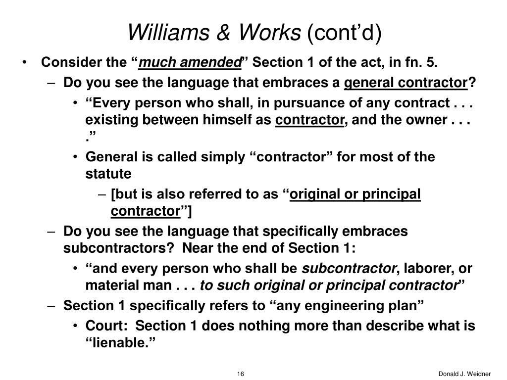 Williams & Works