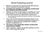 world publishing cont d50