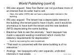 world publishing cont d52