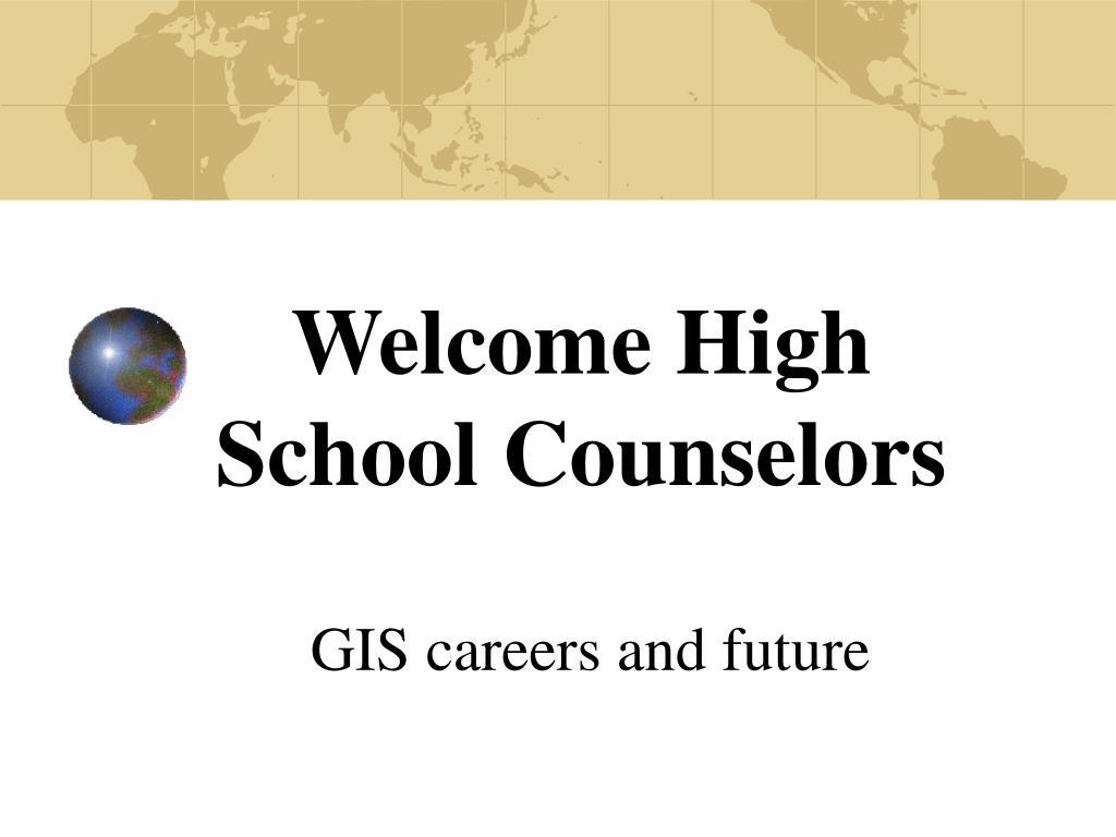 welcome high school counselors l.