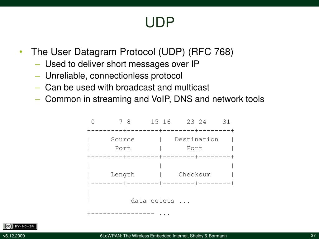 PPT - 6LoWPAN: The Wireless Embedded Internet Companion