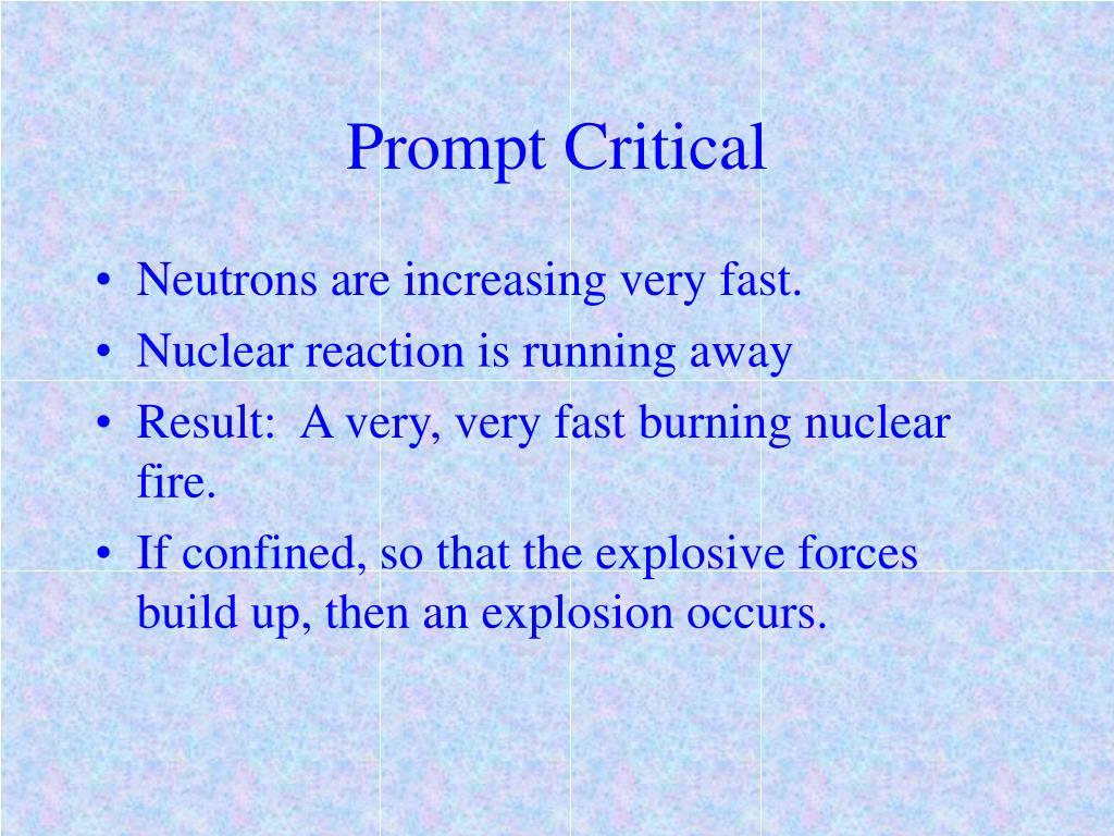 Prompt Critical