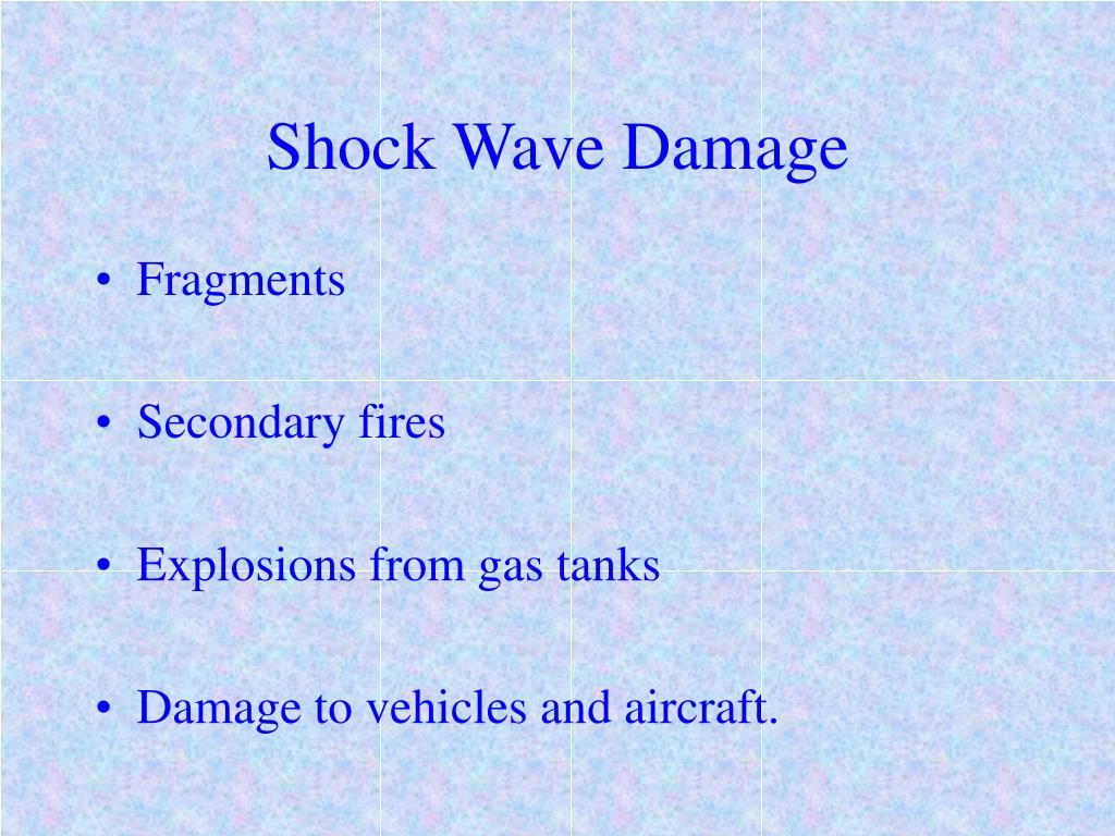 Shock Wave Damage
