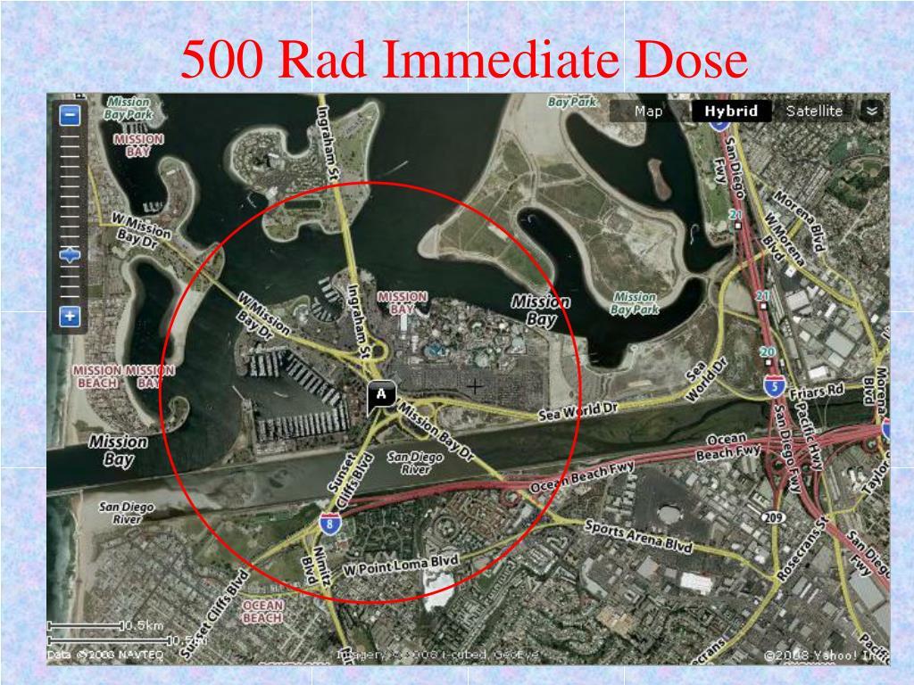 500 Rad Immediate Dose
