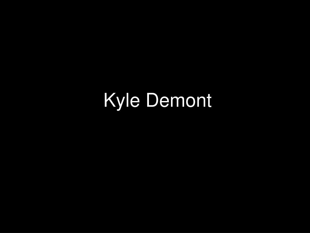 Kyle Demont