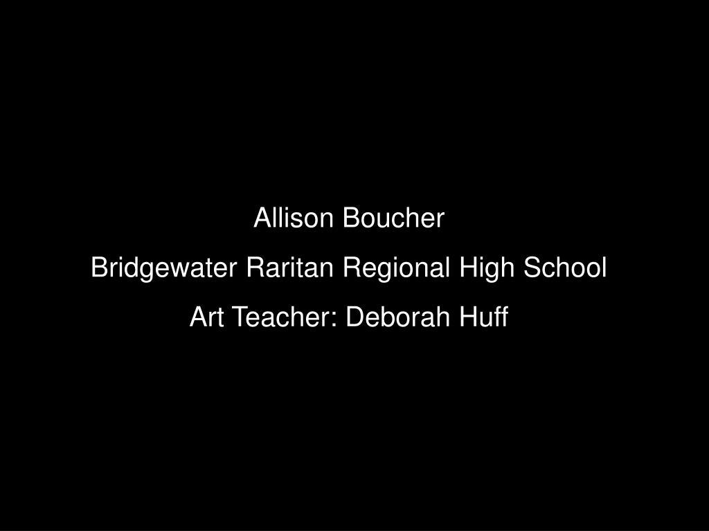 Allison Boucher