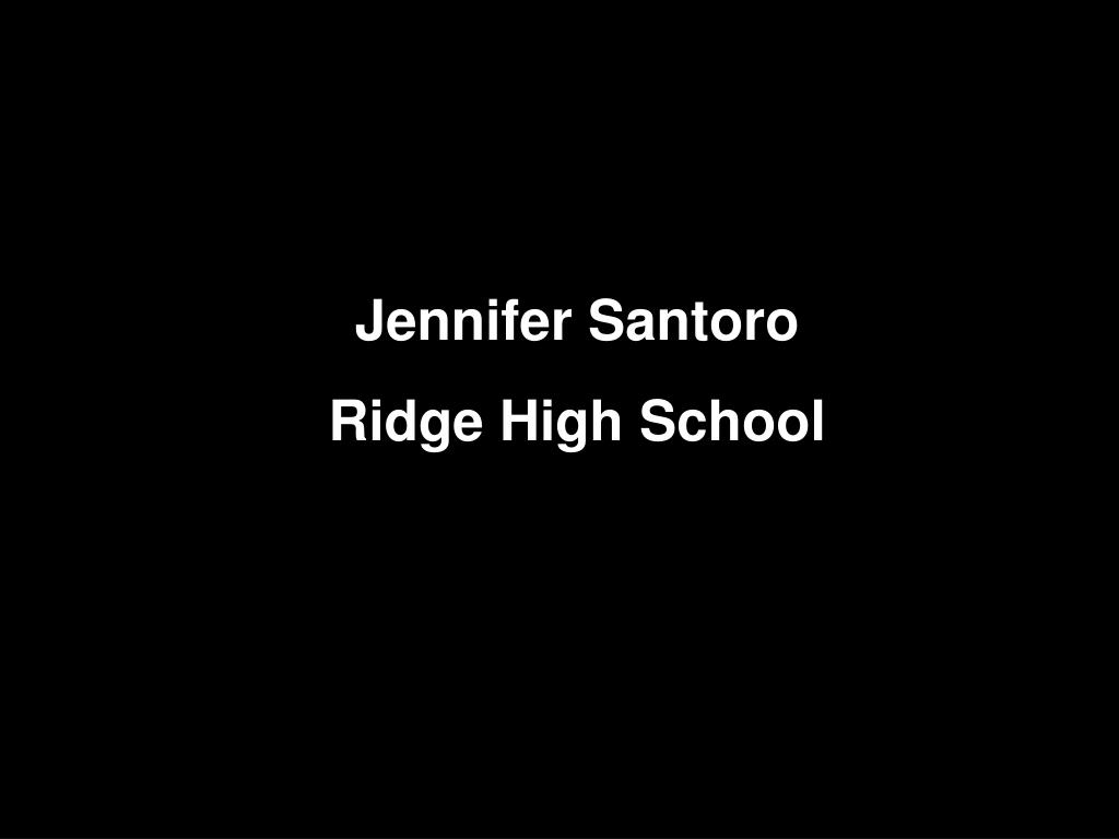 Jennifer Santoro