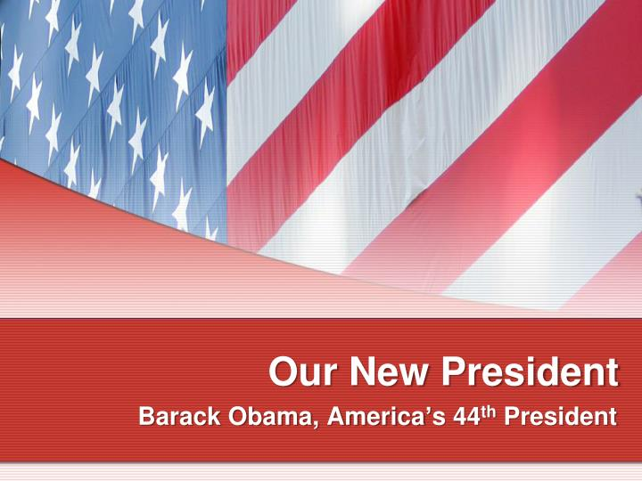 our new president n.