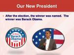 our new president12
