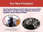 our new president18