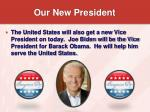 our new president19