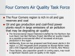 four corners air quality task force