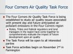 four corners air quality task force1