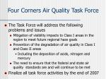 four corners air quality task force2