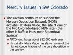 mercury issues in sw colorado1