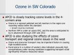 ozone in sw colorado1