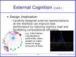 external cognition cont53