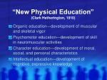 new physical education clark hetherington 1910
