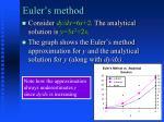 euler s method3