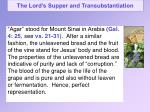 the lord s supper and transubstantiation13