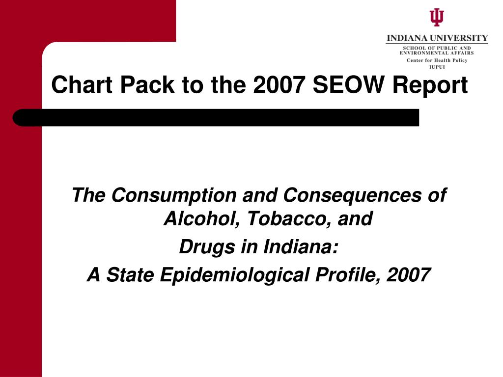 chart pack to the 2007 seow report l.